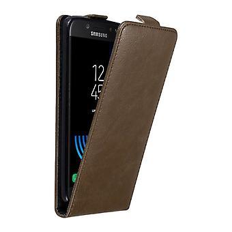 Cadorabo Hülle für Samsung Galaxy J5 2017 Case Cover - Handyhülle im Flip Design mit Magnetverschluss - Case Cover Schutzhülle Etui Tasche Book Klapp Style