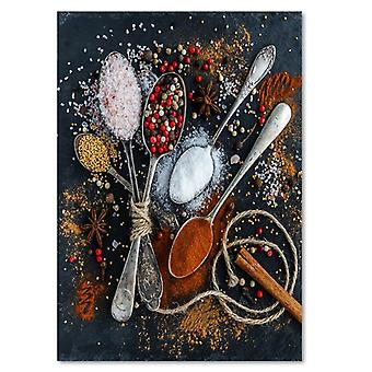 Canvas, Picture on canvas, Spices 2