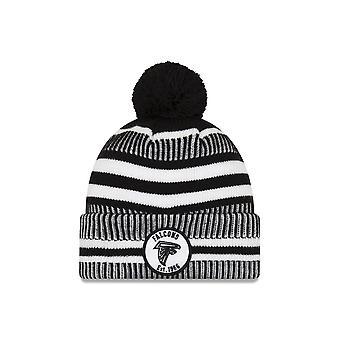 New Era Nfl Atlanta Falcons 2019 Sideline Home Black/white Sport Knit