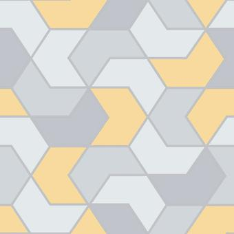Portfolio Hex Geo Wallpaper Rasch