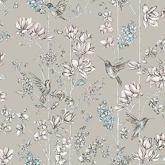 Floral Charm Hummingbird wallpaper Holden