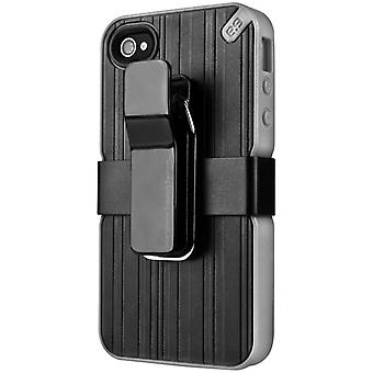 Puregear Utilitarian Smartphone Support Case for Apple iPhone SE/5/5S - Black