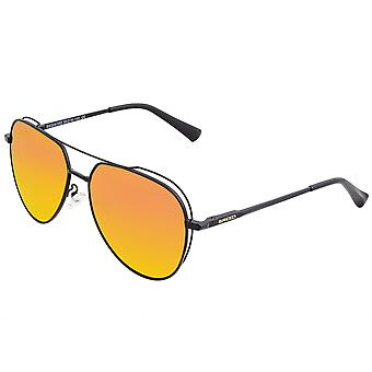 Breed Lyra Polarized Sunglasses - Black/Red-Yellow