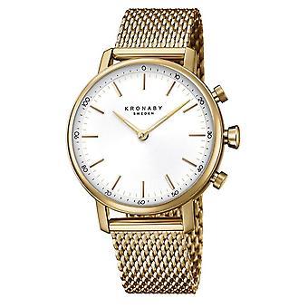Kronaby S0716-1 Women's Carat Smartwatch Gold Tone
