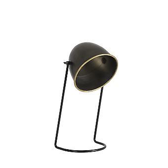 Lámpara de mesa de luz y vida Ø21x51 Cm PERCY bronce oscuro