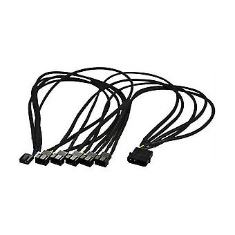 Splitter cable for 4-Pins fans