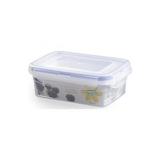 Hobby Life 800ml Airtight Rectangular Food Container With Clip Top Lid