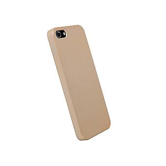 Krusell Colorcover Hull For Apple IPhone 5 Champagne Metal