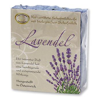 Florex Kaltgerührte sheep milk SOAP - Lavender - soothing soothing relaxing effect 150 g