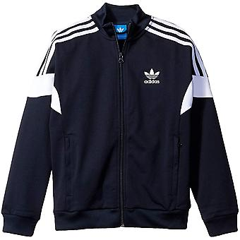 adidas Originals Juniors CLR84 Regular Fit Casual Zip Up Track Top Jacket - Navy