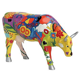 Cow Parade Groovy Moo (large)