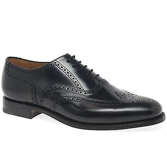 Loake 202B Mens Formal Wing Tip Brogue Shoes