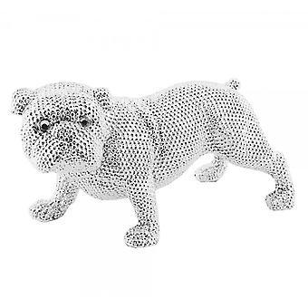 Lesser&Pavey Art Diamante BullDog Ornament LP28040
