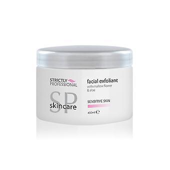 Strictly professional facial exfoliant sensitive skin 450ml