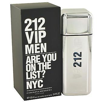 212 Vip Eau de Toilette Spray von carolina herrera 492572 100 ml
