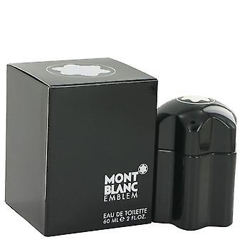 Montblanc emblem eau de toilette spray af mont blanc 516853 60 ml