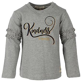 Small Rags Gray Girls t-shirt Kindness