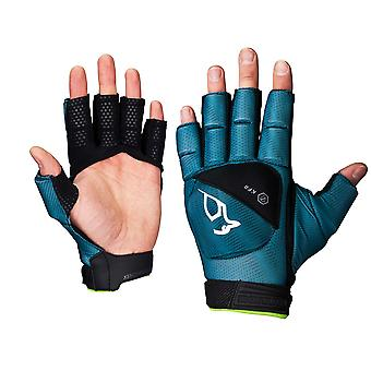 Kookaburra 2018 Xenon Plus Field Hockey Fingerless Hand Protection Turquoise