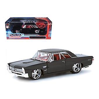 1965 Pontiac GTO Negro Personalizado 1/18 Diecast Car Model por Maisto