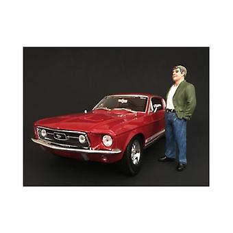 70's Style Figur VII Für 1:24 Maßstabsmodelle von American Diorama