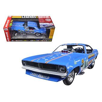 Larry Arnold's King Fish 1970's Plymouth Cuda Funny Car Limited Edition to 750pcs 1/18 Modellauto von Autoworld