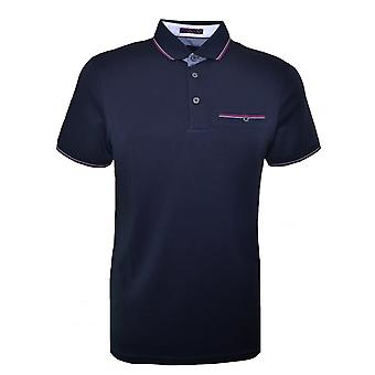 Ted Baker Men's Navy Blue Kiwi Polo Shirt