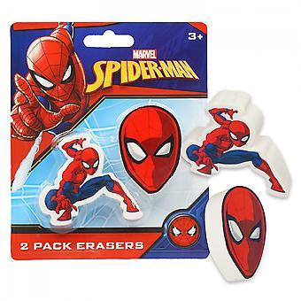 Spider-Man 2-Pack Erasers