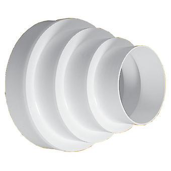 80/100/120/125/150/160mm Round Vent Pipe Ventilation Réduction Downpipe Réduction Depipe