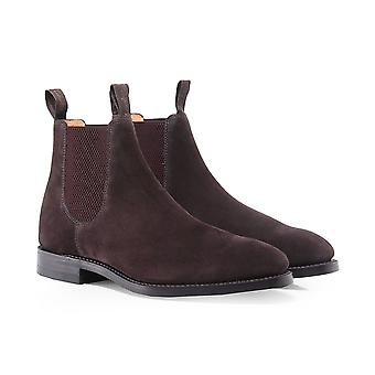 Loake Suede Chatsworth Chelsea Boots