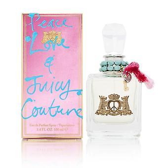 Peace love & juicy couture by juicy couture for women 3.4 oz eau de parfum spray