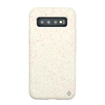 Eco Friendly White Samsung Galaxy S10 Case