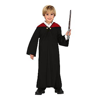 Costume de robe de fantaisie d'étudiant de garçons magiques