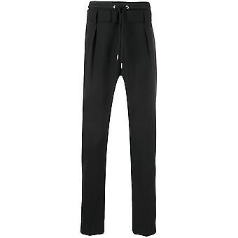 Les Hommes Lip302307n9000 Men's Black Synthetic Fibers Pants