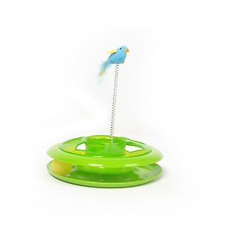 Duvo+ Happy Cat Toy Hoop Green 27 Cm Diameter (Cats , Toys , Movement)