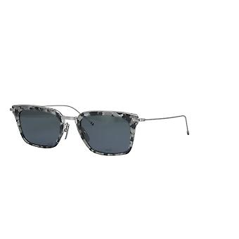 Thom Browne TBS916 03 Grey Tortoise Silver/Dark Grey Sunglasses