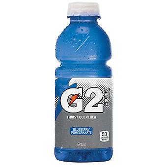 Gatorade G2 Mirtillo Melograno-( 591 Ml X 12 Bottiglie )