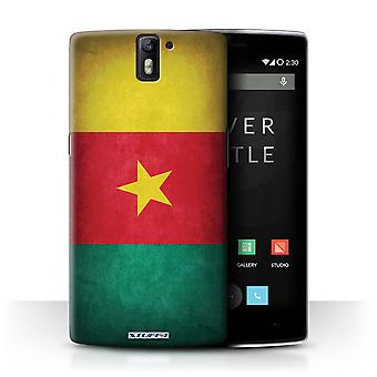 STUFF4 Case/Cover for OnePlus One/Cameroon/Cameroonian/Flags