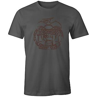 Boys Crew Neck Tee Short Sleeve Men-apos;s T Shirt- Torchwood Rugby Club
