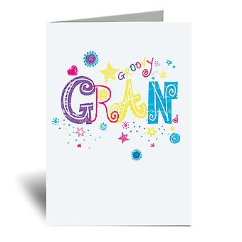 Groovy Gran A6 Greeting Card