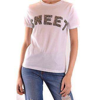 Sweet Matilda Ezbc407006 Women's White Cotton T-shirt