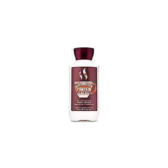 (2 Pack) Bath & Body Works Marshmallow Pumpkin Latte Super Smooth Body Lotion 8 fl oz / 236 ml