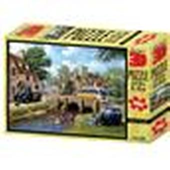 Down By The River Kevin Walsh Nostalgie Sammlung Super 3D Puzzles 500 Stück