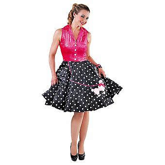 Mulheres fantasias Mulheres Rock & Roll jurk