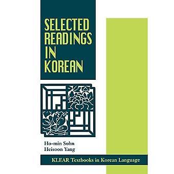 Leituras selecionadas em coreano (livros didáticos KLEAR em língua coreana)