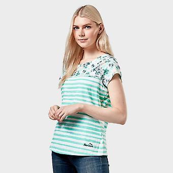 New Peter Storm Women's Patsy Short Sleeve T-Shirt Light Blue