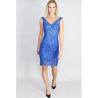 Mia off shoulder lace cocktail dress