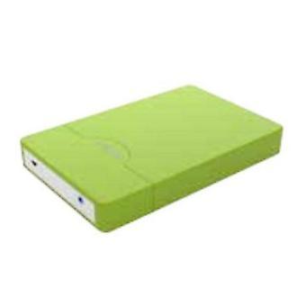 "Externe Box ca.! appHDD10GP 2,5"" USB 3.0 SATA-grün"