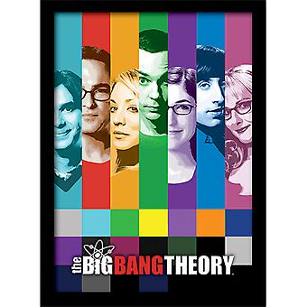 Big Bang Theory Signaalit kehystetty levy 30 * 40cm