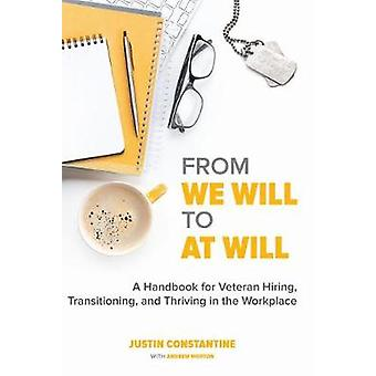 From We Will to At Will - A Handbook for Veteran Hiring - Transitionin