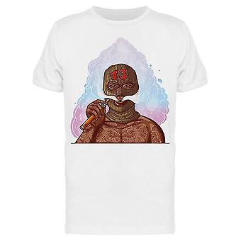 Guy In A Ski Mask Tee Men's -Image by Shutterstock